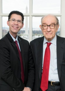 An Amazing Week with Alan Greenspan,  Sir John Sawers, Cokie Roberts and more