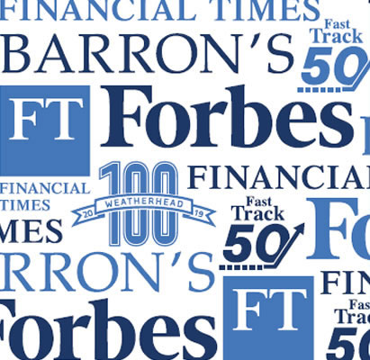 Barron's, Forbes, Financial Times awards